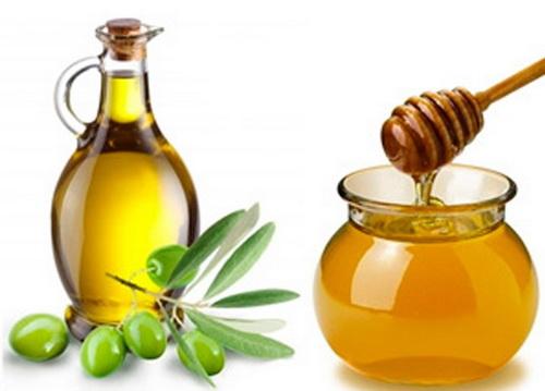 Маска для лица из меда и оливкового масла