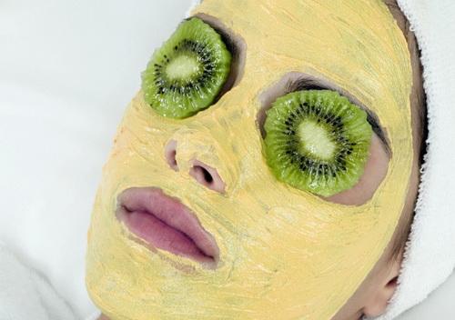 частота маски из муки и глины