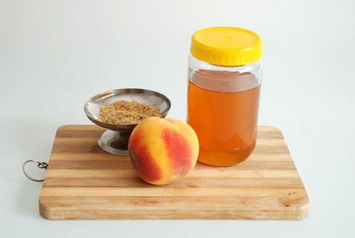 Масло персика для лица