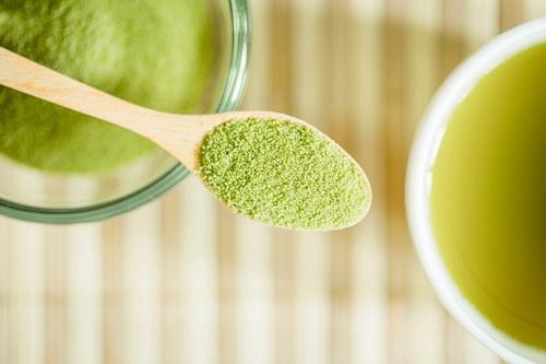 Маска из зеленого чая для лица