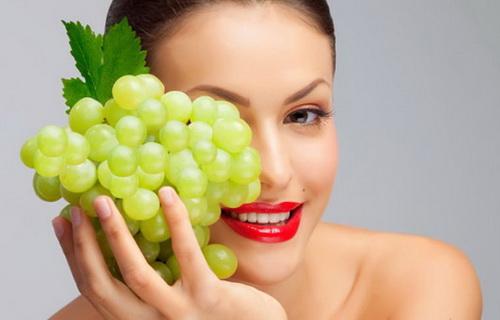 Маска из винограда для лица