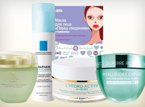 Профессиональные крема для лица с гиалуроновой кислотой