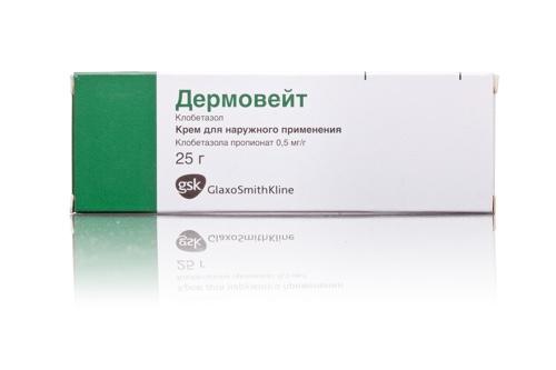 Гормональный крем от аллергии
