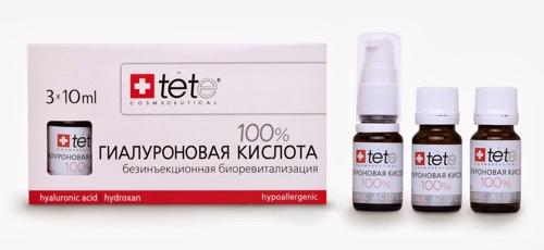 Косметика с гиалуроновая кислота для лица