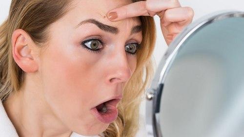 Папилломы на лице лечение