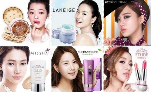 Бренды корейской косметики