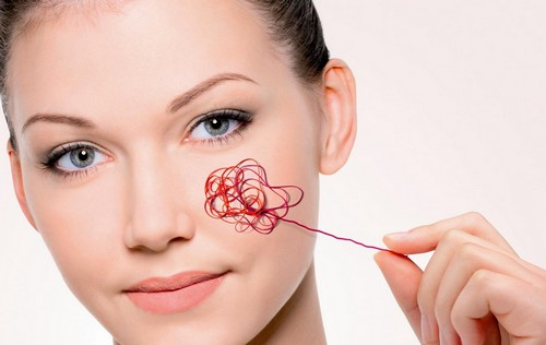 Косметика при куперозе лица