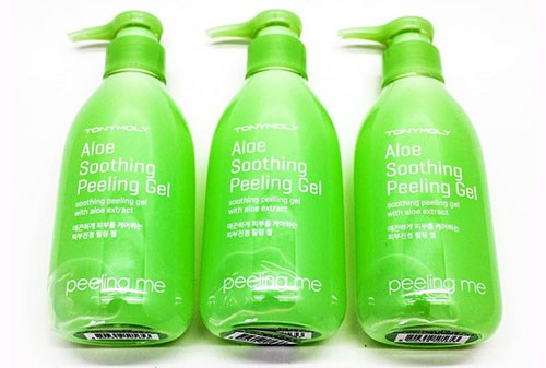 Гель-пилинг для очищения кожи лица