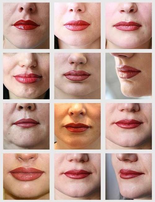 Что делать чтобы татуаж губ осталось