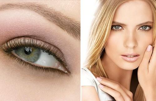 Естественный макияж для глаз