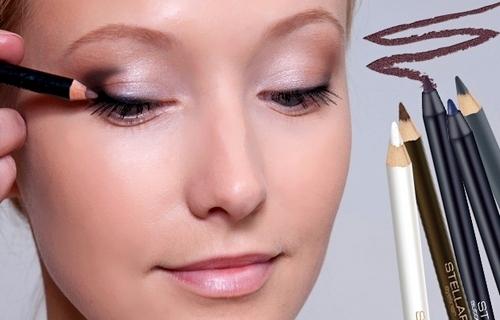 Карандашная техника в макияже