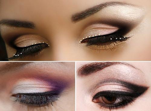 Техника макияжа глаз птичка