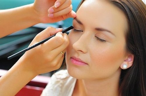 Дневной макияж по цвету глаз