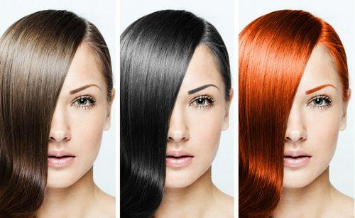 Повседневный макияж по типу волос