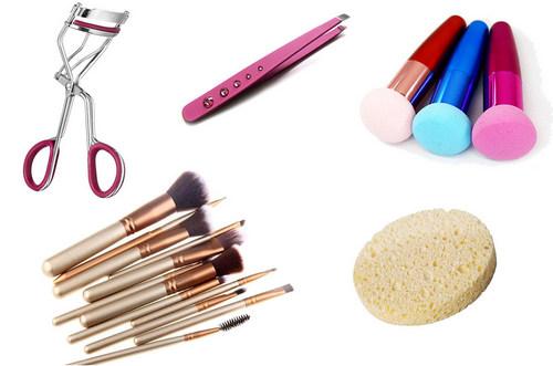Инструмент для макияжа в домашних условиях