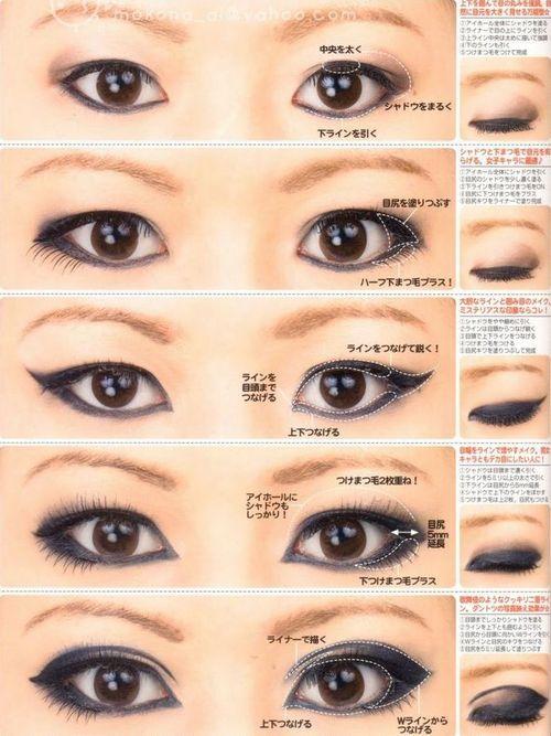 Как сделать макияж когда глаза маленькие