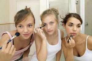 Макияж для подростков от 12 до 16 лет: учимся женственности и естественности