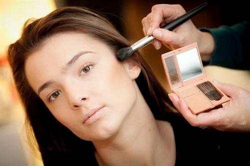 Матовый макияж