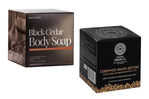 Северное мыло-детокс и Black Cedar Body Soap