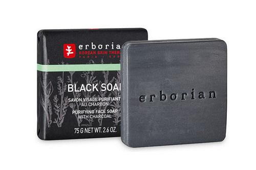 Корейско-франсузкое Black Soap от компании Erborian