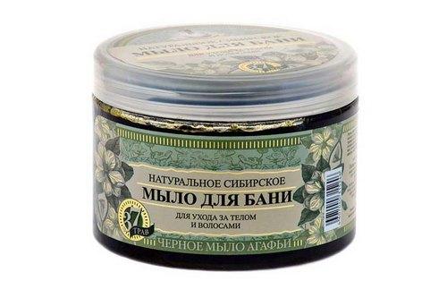 Натуральное сибирское мыло для бани для ухода за телом и волосами