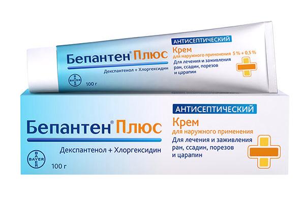 Антисептический крем для лечения и заживления ран, ссадин и порезов