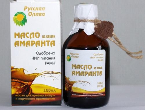 Амарантовое масло для лица: чем полезно и как применять