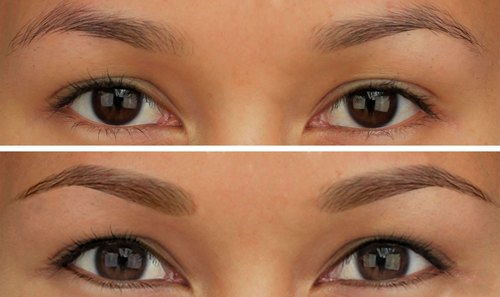 Перманентный макияж бровей: как делают, сколько держится, виды, уход, плюсы и минусы