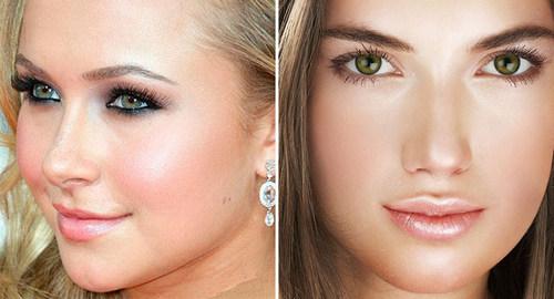 Макияж для русых волос и разного цвета глаз: особенности и пошаговые техники