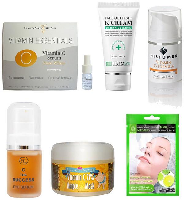 Витамин С в ампулах для лица Дешевый способ разгладить морщины улучшить цвет лица избавиться от пигментации и черных точек