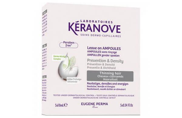 Ампулы Keranove от выпадения волос