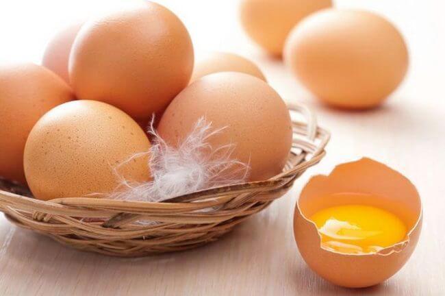 Маска для волос с яйцом для сухих