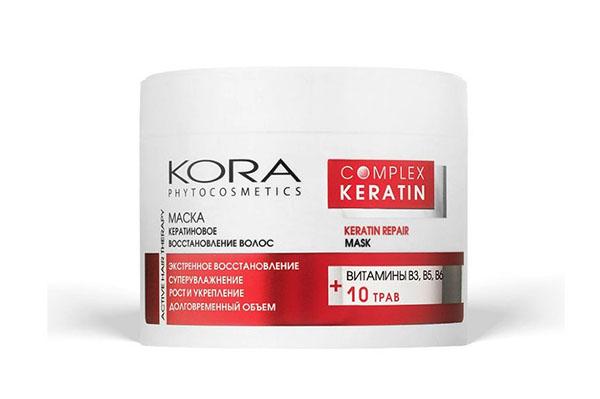 Маска для волос с кератином Кора Complex Keratin