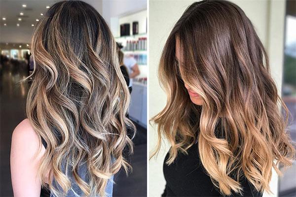 Окрашивание волос Flame Balayage